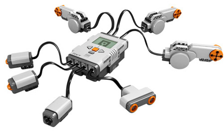 Mindstorms NXT hardware